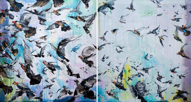 Frank David Valdés, 'Resurrected', 2019, Painting, Mixed media on canvas, ArteMorfosis - Cuban Art Platform