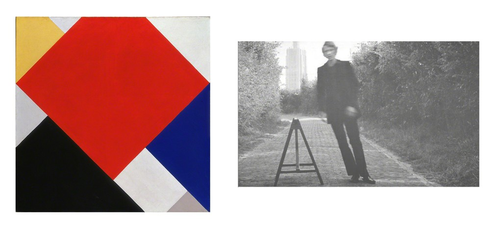 Right: Theo van Doesburg, Counter-Composition V, 1924, coll. Stedelijk Museum Amsterdam