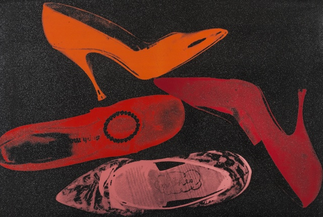 Andy Warhol, 'Shoes (Feldman & Schellmann II.253)', 1980, Print, Screenprint in colours with diamond dust, on Arches paper, Forum Auctions