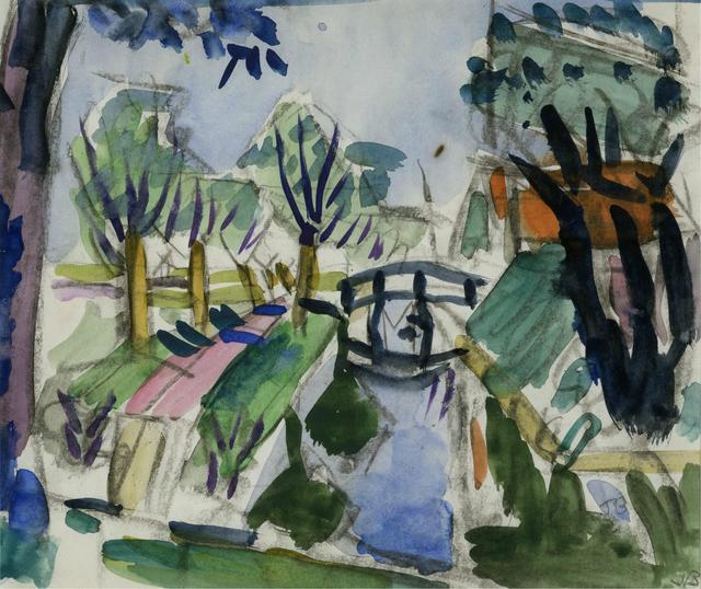 , 'Bridge, Holland,' , Childs Gallery