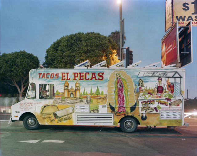 Jim Dow, 'Tacos El Pecas, Boyle Heights, Los Angeles, California', 2008, Robert Klein Gallery