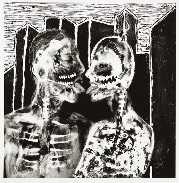 , 'Le baiser radioactif,' 2017, Urban Spree Galerie