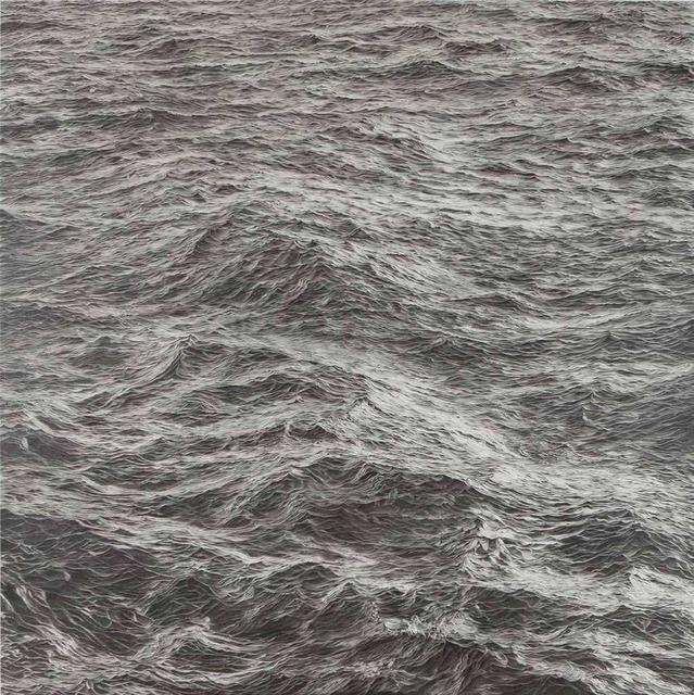 , 'Wasser XX,  20.4.2015 - 7:30 bis 13.3.2017 - 22:23  (40776 Minuten gezeichnete Zeit),' 2017, Galerie Commeter / Persiehl & Heine