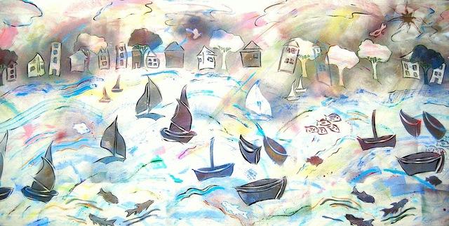, 'Windy Harbor ,' 2013, Fountain Street