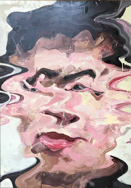 Li Tianbing, 'Self-portrait #1', 2003, Painting, Oil and gloss painting on canvas, MICHALI GALLERY