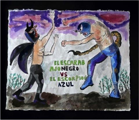 , 'El Chihuahueño loco contra el escorpión ,' 2017, NM Contemporáneo
