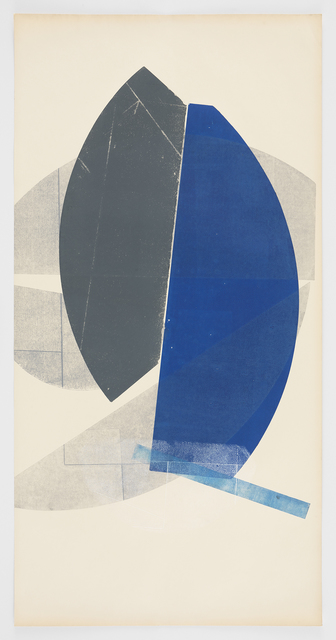 , 'Blue and Gray,' 2016, Morgan Lehman Gallery