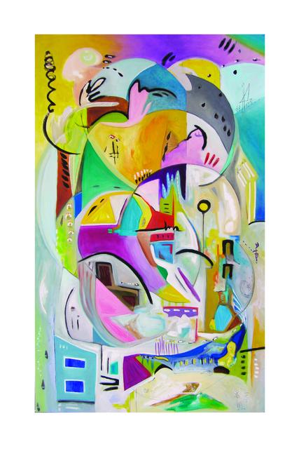 , 'Gather ,' 2018, Walter Wickiser Gallery