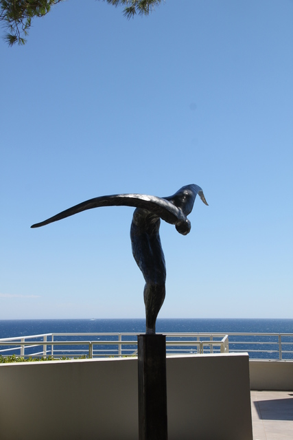 Jean-Marie Fondacaro, 'L'envol', 2010, Sculpture, Bronze or resin, Bogena Galerie