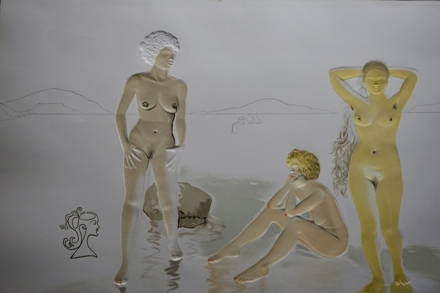 Salvador Dalí, 'Three Graces of Cova d'or', 1975, Fine Art Acquisitions