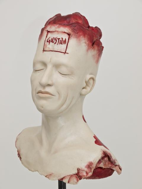 , 'GIUSTIZIA portrait of Mario Cifinelli),' 2014, ACS GALLERY