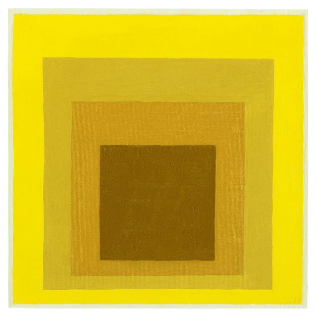 , 'Study for Homage to the Square: Hard, Softer, Soft Edge (Estudio para el homenaje al cuadrado: Hard, Softer, Soft Edge),' 1964, Museo de Arte Contemporáneo de Buenos Aires