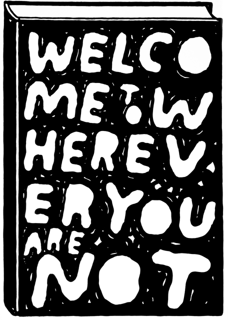, 'Welcome to wherever you are not,' 2014, Ruttkowski;68