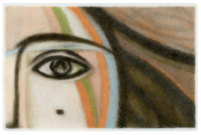, 'Lover's Eye III: Francoise (after Picasso),' 2015, Clark Gallery