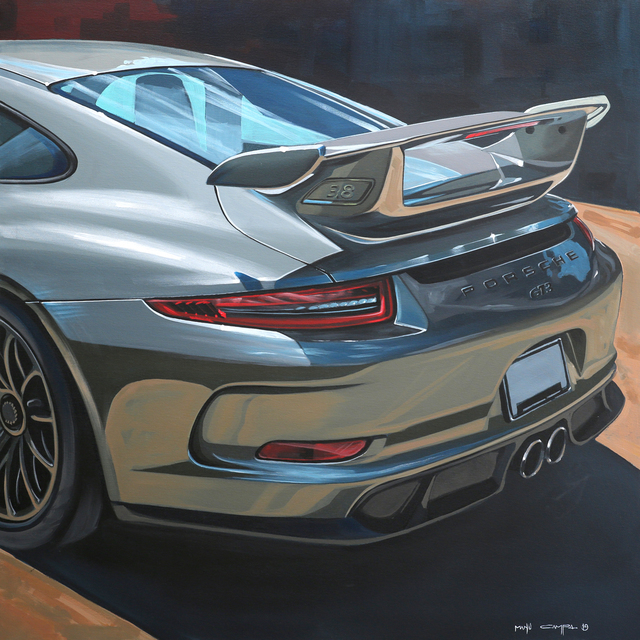, 'GT3,' 2019, JPS art Gallery