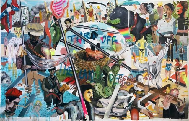 , 'Agrupación de mujeres violentas,' 2017, T20