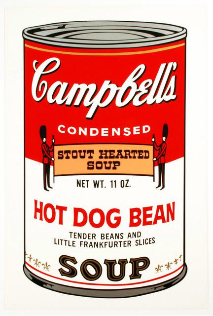 , 'Hot Dog Bean,' 1969, Brooke Alexander, Inc.