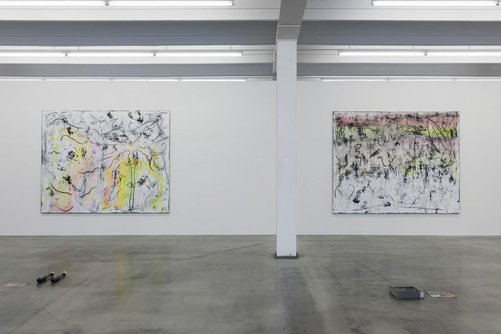 exhibition view: Henning Strassburger, Bleaching is Teaching, Kunstverein Reutlingen, May 29 – August 7, 2016.  courtesy Sies + Höke Düsseldorf, BolteLang Zurich, Soy Capitán Berlin