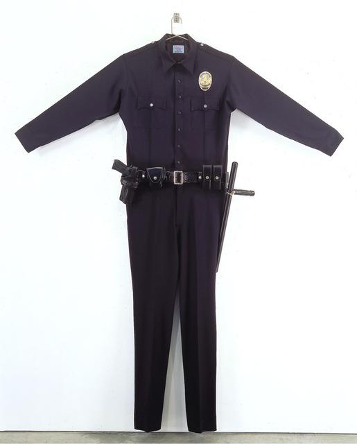 , 'L.A.P.D. Uniform,' 1994, Gagosian Gallery