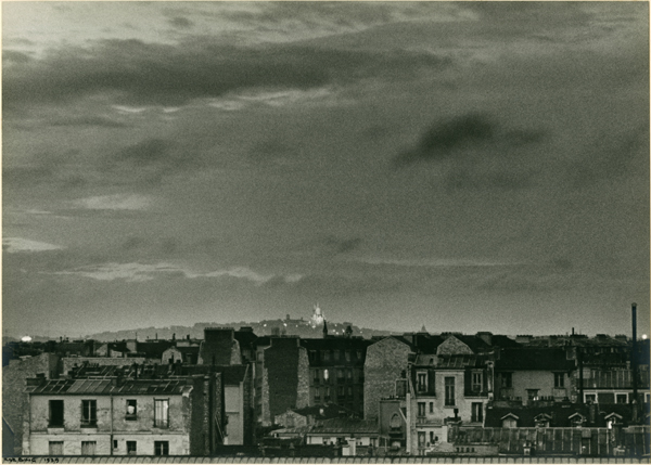 Ilse Bing, 'Paris, Sacre Couer: Thunderstorm on Bastile Day,' 1939, Be-hold