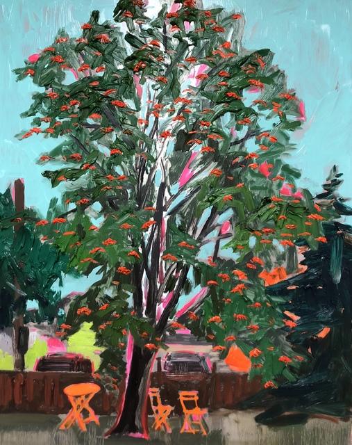 Kim Dorland, 'Mountain Ash', 2018, Galerie Antoine Ertaskiran