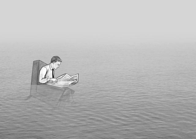 Lien Botha, 'Loss at Sea', 2018, Barnard