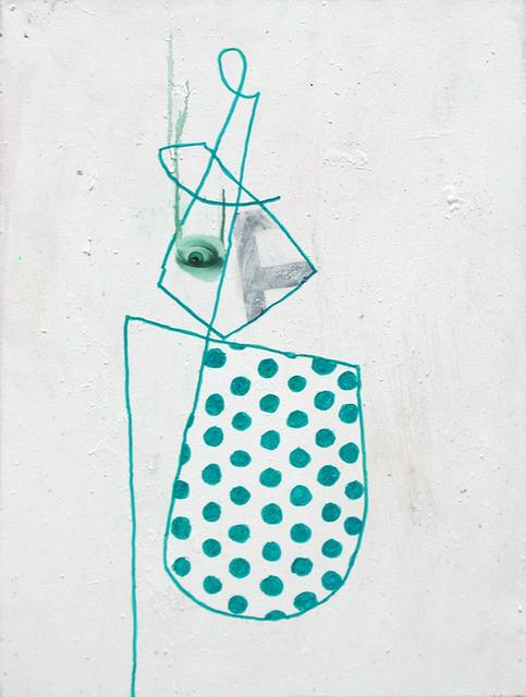 , 'Marker Portrait with Green Eye,' 1997, envoy enterprises