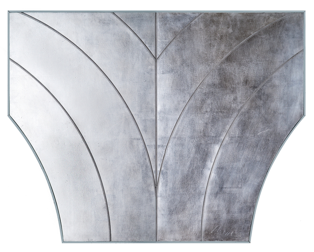 George Dunbar, 'Abstract Arc No. 1', Painting, Palladium over white clay, Callan Contemporary