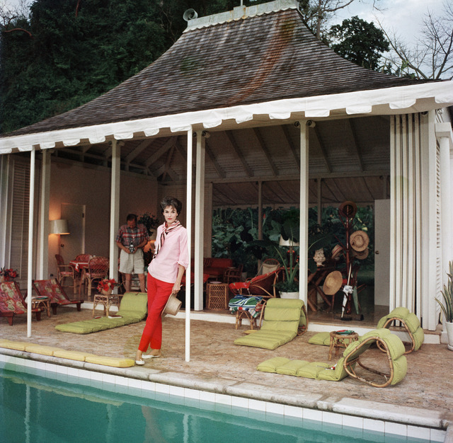 , 'Family Snapper: Babe Paley and William Paley at their cottage in Round Hill, Jamaica,' 1959, Staley-Wise Gallery