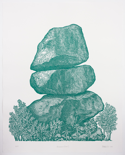 , 'Domboremari (Green),' 2016, WHATIFTHEWORLD
