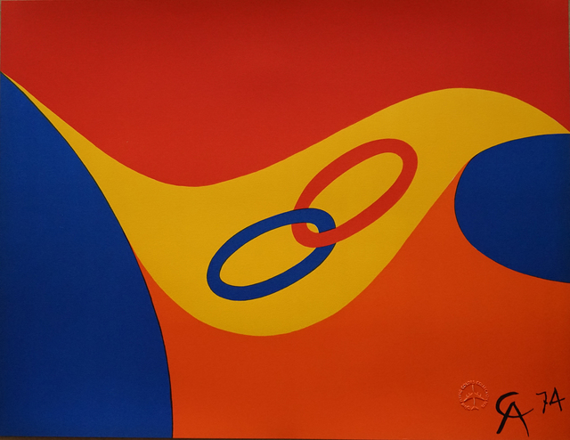 Alexander Calder, 'Friendship Rings', 1974, Pascal Fine Art