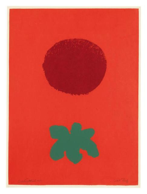 , 'Red Ground,' 1967, Upsilon Gallery