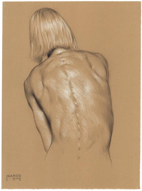 , 'Manou, From Behind,' 2018, Jenn Singer Gallery