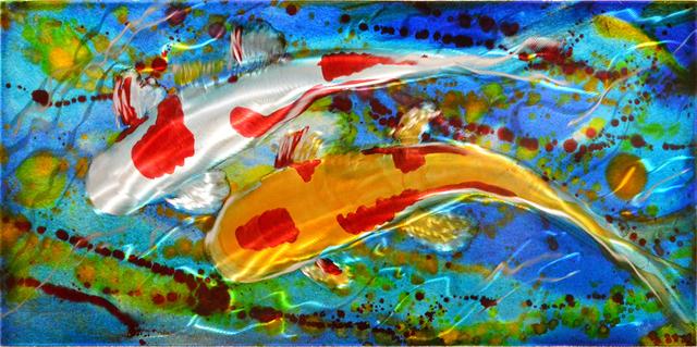 , 'Floating in Color II,' 2018, Mark White Fine Art