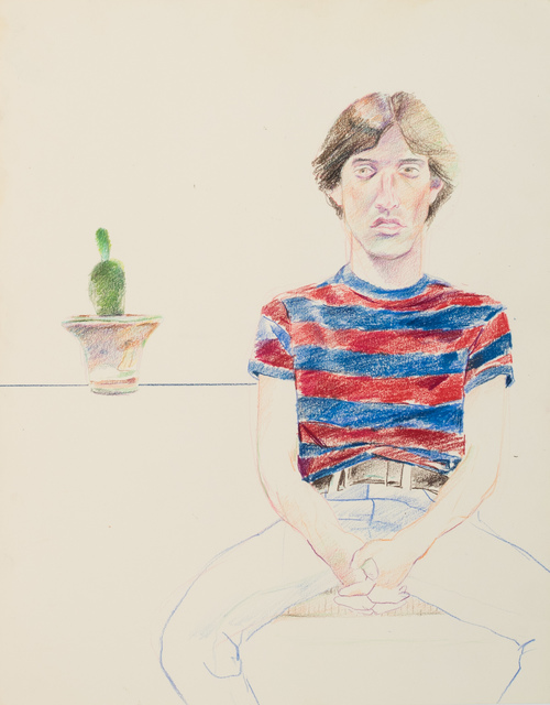 , 'Man with Red and Blue Stripe Shirt,' , Galerie Thomas Fuchs