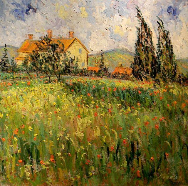 Samir Sammoun, 'Farm House, Tuscany', 2011, Off The Wall Gallery