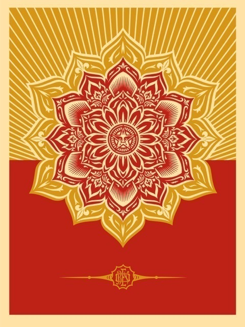 Shepard Fairey, 'Holiday Mandala', 2013, Children's Museum of the Arts Benefit Auction