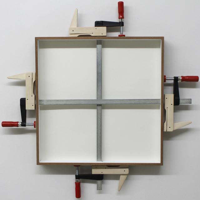 , 'wedged,' 2016, Loom Gallery