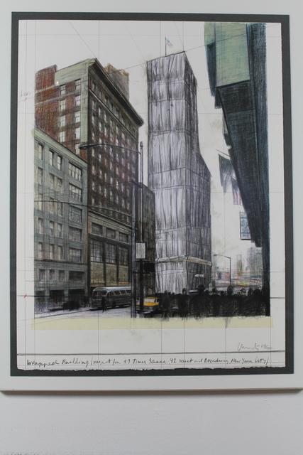 Christo, 'New York Times Square', 2003, Hal Katzen Gallery