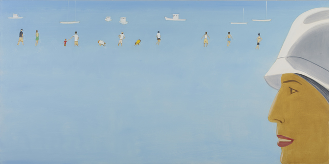 , 'Untitled (Beach scene),' 2013, Monica De Cardenas