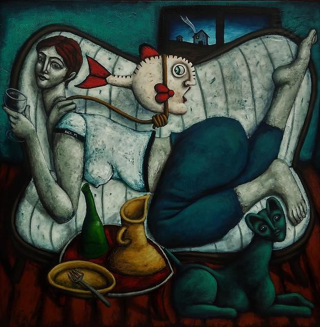 , 'La corde,' 2016, Bouillon d'Art Galerie