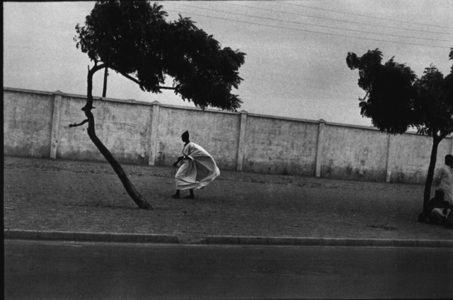 , 'Dakar Roadside with Figures, Dakar, Senegal,' 1972, Steven Kasher Gallery