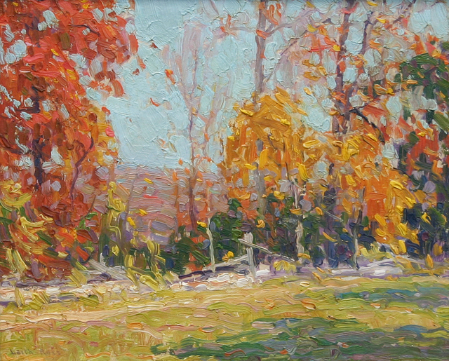 , 'Autumn Landscape,' , Avery Galleries
