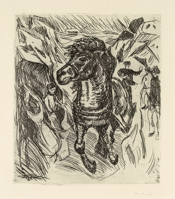 , 'Galloping Horse,' 1915, Galerie Thomas