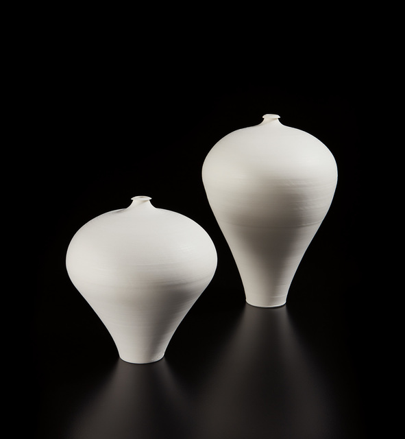 Taizō Kuroda, 'Untitled 13 (Mei Ping) and Untitled 22 (Mei Ping)', 2015, Design/Decorative Art, Porcelain, Phillips