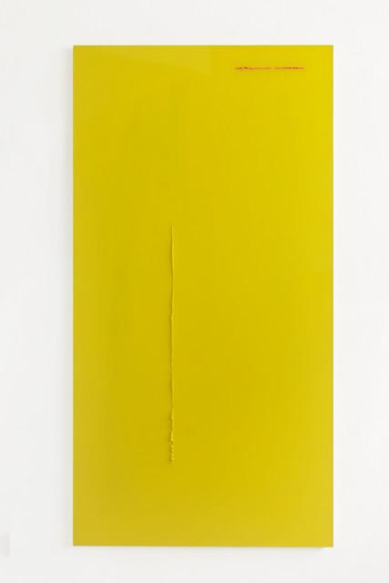 , 'Gelb Pink durch Gelb,' 2017, Galerie Heike Strelow