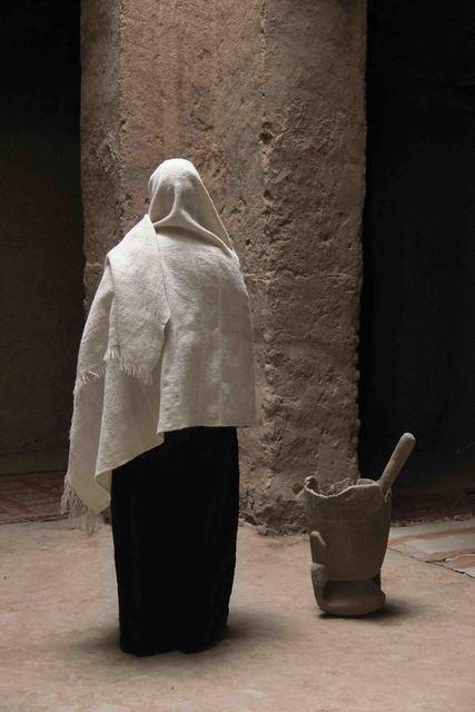 , 'Untitled (figure/pillar),' 2015, ARC ONE Gallery