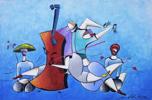, 'Blue Dream Band,' 2017, Blue Gallery