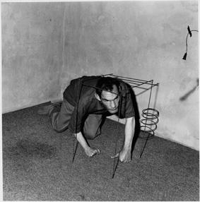 , 'Crawling man,' 2002, Galleria Massimo Minini
