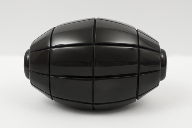 , 'Black Marble Grenade X,' 2017, Massey Klein Gallery